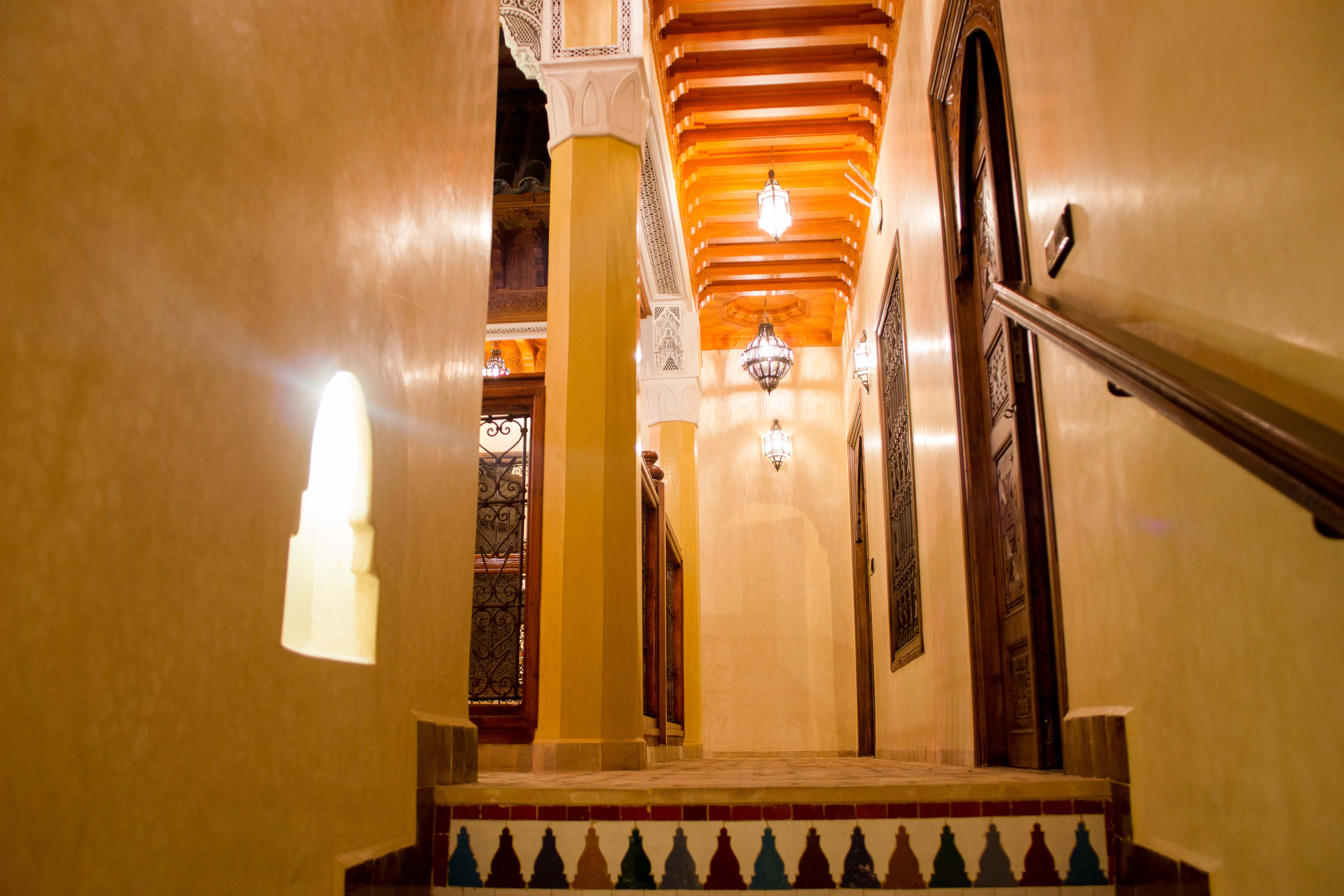 Moroccan traditional architecture is always present